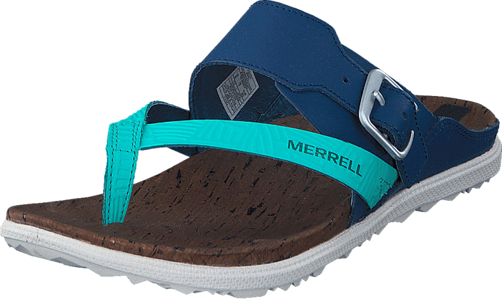 Merrell - Around Town Thong Buckle Print Poseidon
