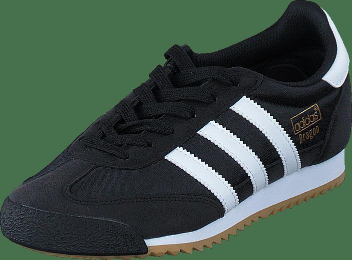Adidas Originals DRAGON Blå Vit Suede Gold Label Trainers UK