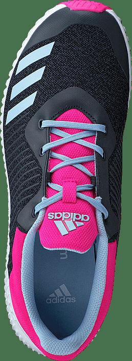 sports shoes 97f53 ed46b adidas Sport Performance - Fortarun K Dark GreyEasy Blue S17Shock