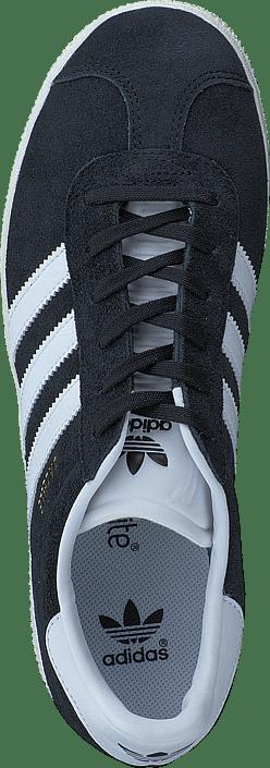 adidas Originals - Gazelle J Core Black/Ftwr White/Gold Met