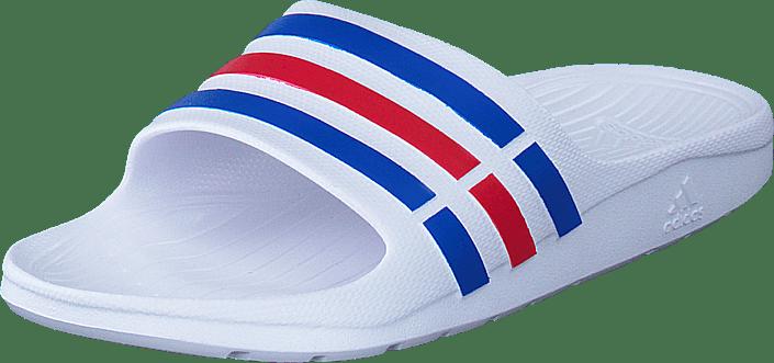 Tøfler Hvite Sandaler Og true Slide red Online Adidas Blue Kjøp Duramo S09 Sko Performance White Sport xqZaOv1C