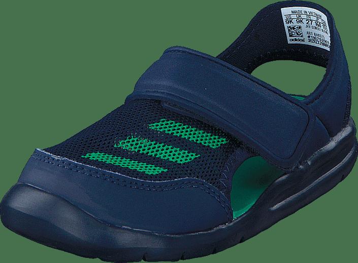 adidas Sport Performance - Fortaswim I Collegiate Navy/Core Green S17