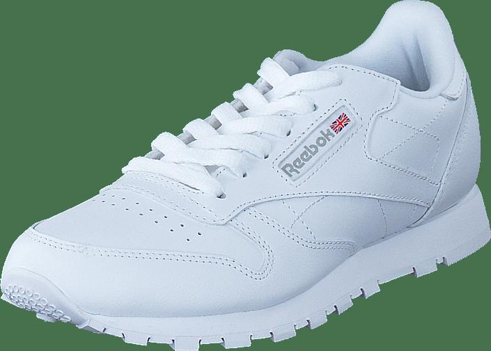 36cda32bfba Køb Reebok Classic Classic Leather White-1 hvide Sko Online | FOOTWAY.dk