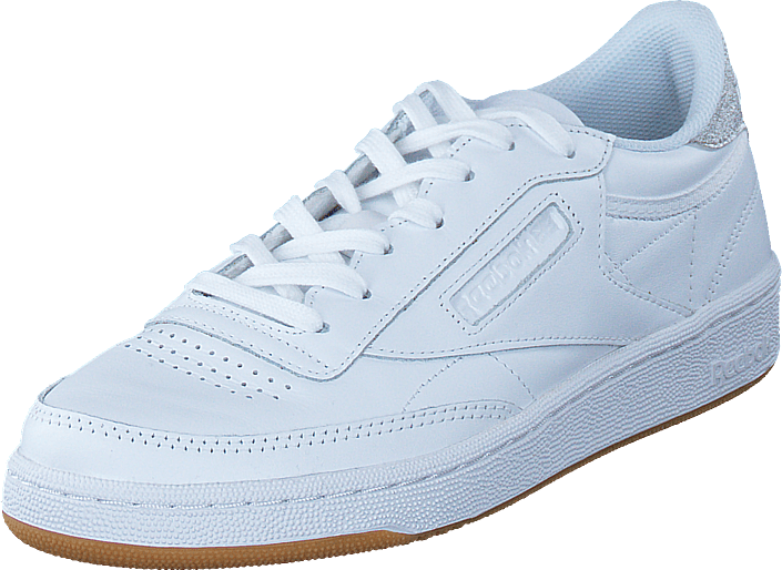 82349b64f29f0 Buy Reebok Classic Club C85 Diamond White Gum white Shoes Online ...