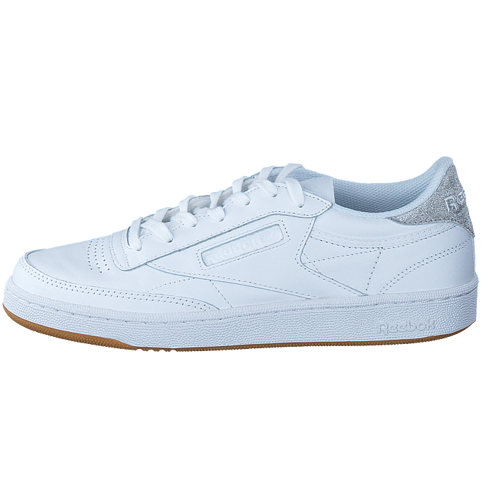 Reebok Club C 85 Sneaker Diamond WhiteGum in wit | fashionette