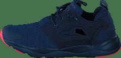 Reebok Furylite Slip on Arch Dame Sneakers Dame Svart