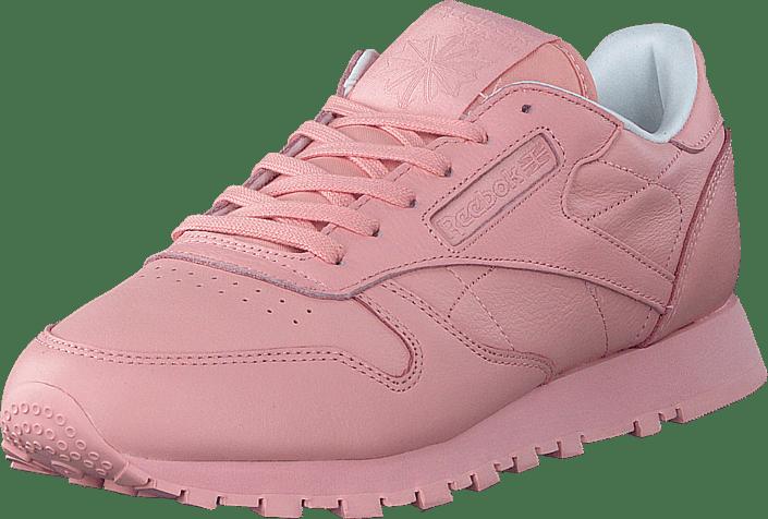 CL Lthr Pastels Patina Pink/White