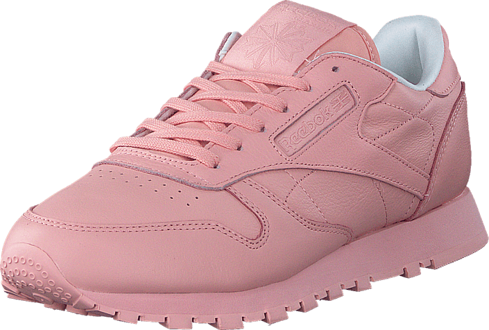 183f5a56a255 Buy Reebok Classic CL Lthr Pastels Patina Pink White pink Shoes ...