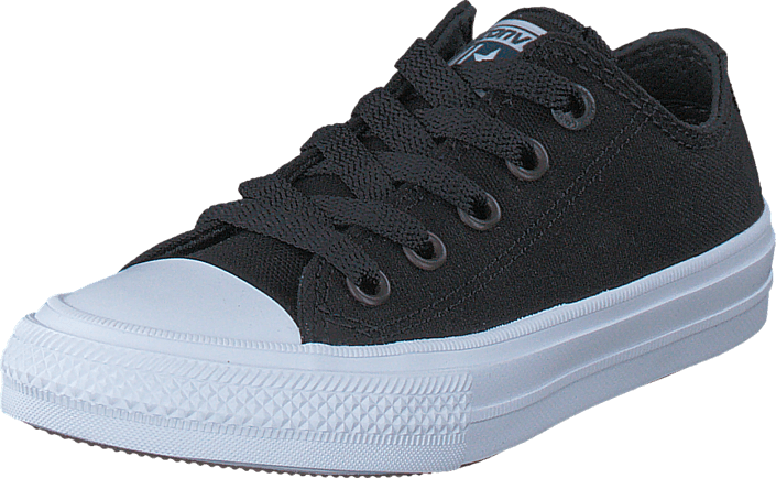 82f1dcc32356 Buy Converse Chuck Taylor All Star 2 Ox Kids Black black Shoes ...