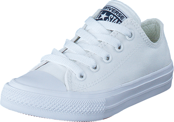 aa6e4954eda Buy Converse Chuck Taylor All Star 2 Ox Kids White white Shoes ...