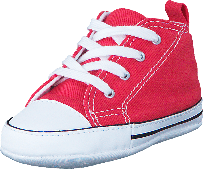 c0d9eb354834 Buy Converse First Star Crib Varsity Red pink Shoes Online