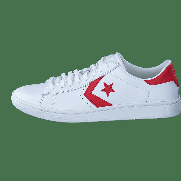 White Sneakers Sportsko Lp Leather Og Pro Ox Online Sko Kjøp Hvite casino Converse ZaTXpp