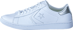 best website a20f0 77432 Converse - Pro Leather LP Ox White Silver