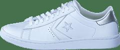 best website d2179 408df Converse - Pro Leather LP Ox White Silver