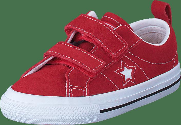 FOOTWAY FOOTWAY Sko Blå Blå One Converse Star 2V Red Online no Suede Kjøp z0x6Ywx