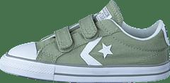 Converse Junior Ox Dried SageWhiteDolphin Star Player 3V