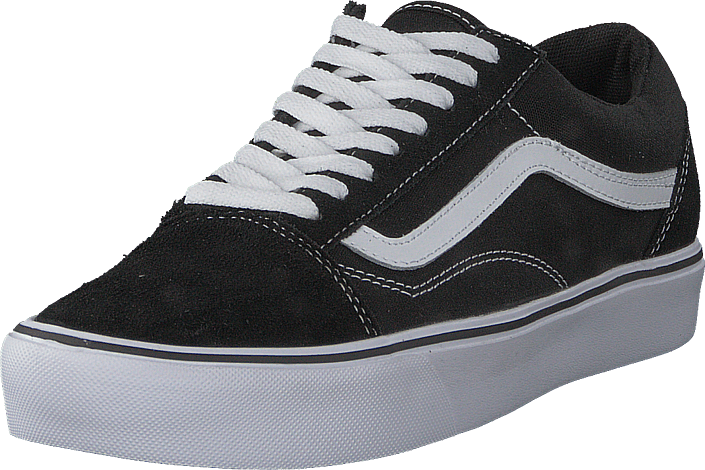 a3c14c1e0003 Buy Vans UA Old Skool Lite Suede Canvas Black White black Shoes ...