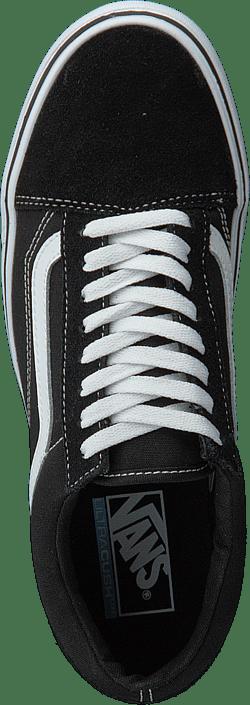 UA Old Skool Lite Suede/Canvas Black/White