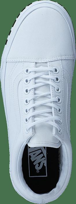 272f627e2f09 Buy Vans UA Old Skool Platform (Off the Wall) true white white Shoes ...