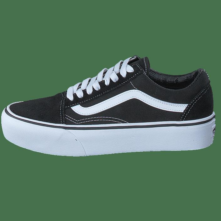 Platform Black Sportsko white Vans Sko Ua Skool 01 Og Sorte Old Online Køb 59045 Sneakers ZqICgwq