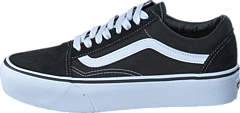 UA Old Skool Platform Black/White