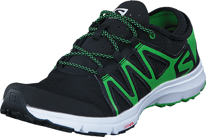 competitive price 6fd7f 634fe Salomon - CROSSAMPHIBIAN SWIFT Black Black Green