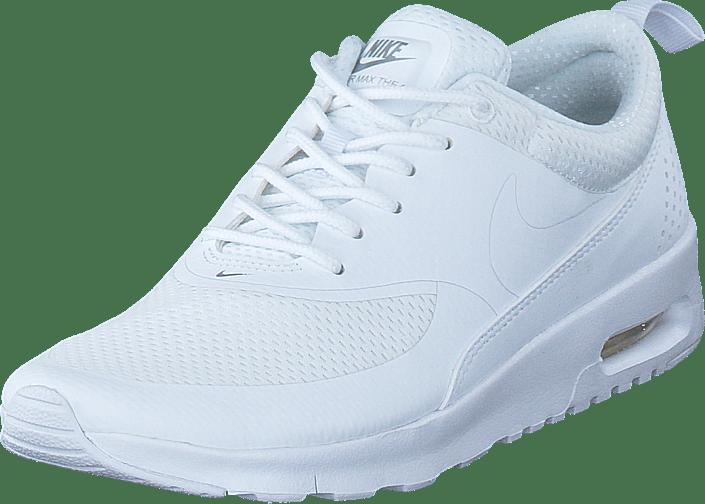 wmns nike air max thea Vit Metallic Silver Röd Svart Nike