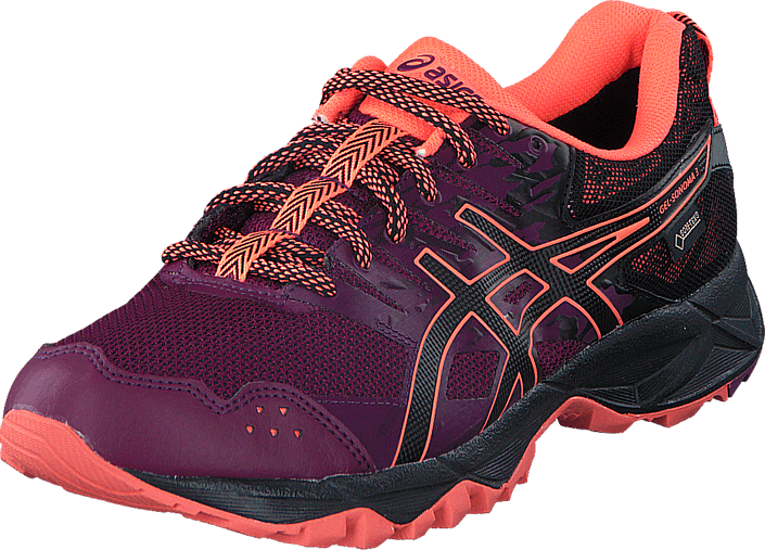 Asics - Gel Sonoma 3 Gtx Dark Purple/Black/Flash Coral