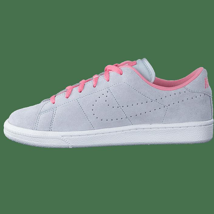 best website 93611 93b30 Köp Nike Tennis Classic Prm (Gs) Pure Platinum Platinum-Melon blåa Skor  Online   FOOTWAY.se