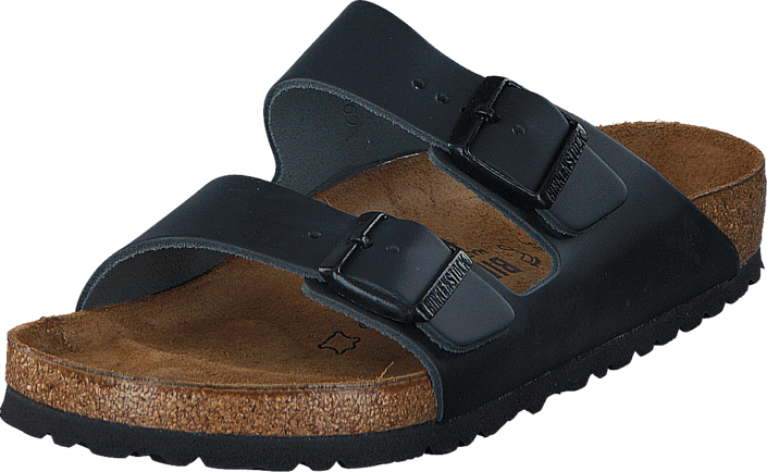 Birkenstock - Arizona Regular Smooth Leather Black
