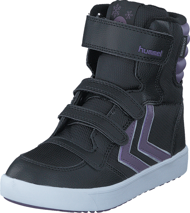Hummel Stadil Super Poly Boot Jr Waterproof Montana Grape gråa Skor Online