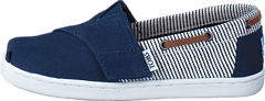 Infant Navy Canvas/Stripes Navy
