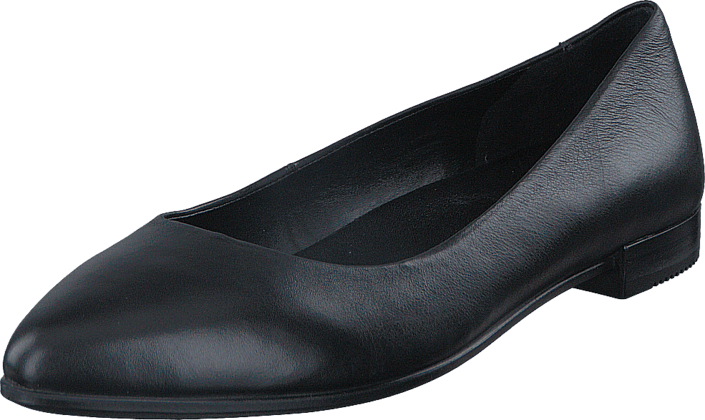 Ecco - Shape Pointy Ballerina Black Foulard