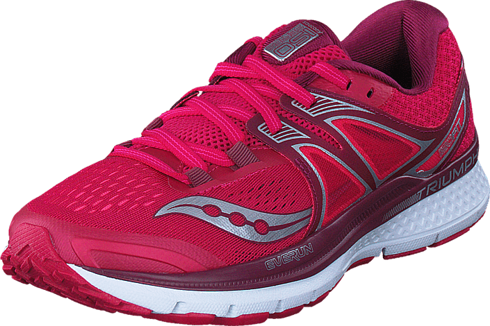 Saucony TRIUMPH ISO 3 Pink/Berry/Silver