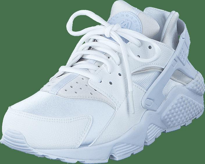 huarache run white