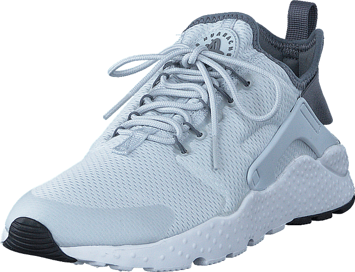 W Air Huarache Run Ultra Pure PlatinumCool Grey Black