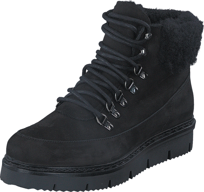 Cleated Warm Boot Black/Black