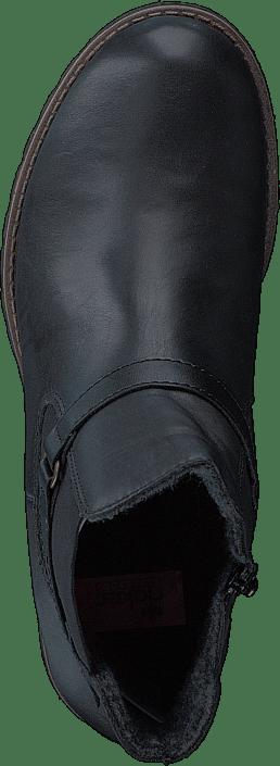00 Grå 00 Sko Kjøp 78562 Online Rieker Black Boots twFPUZq
