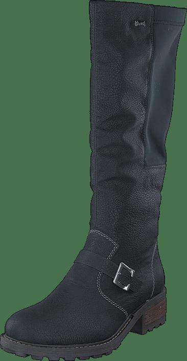 Rieker - Y0481-00 00 Black