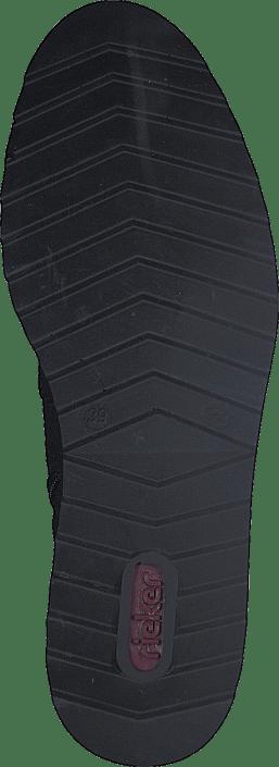 00 Boots Online Black Kjøp Sko Y6388 Rieker Sorte 00 qTwn8E0A