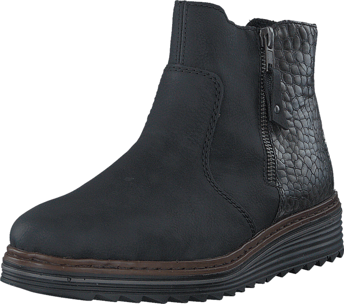 Sko Black Kjøp 00 Online 00 Y6388 Boots Rieker Sorte wvYqR6