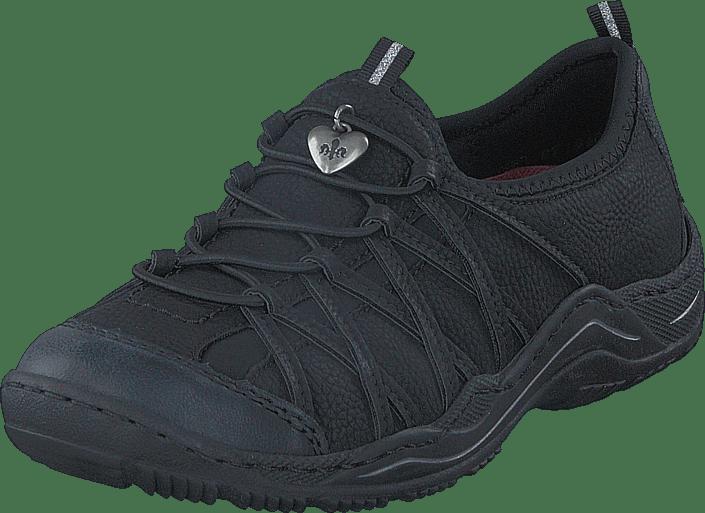 Shoes Black co uk Rieker OnlineFootway Buy 00 L0551 qVGUMSpz