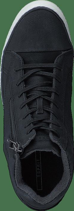 Försäljning Damskor Köp Esprit Star Wedge Boots Black svarta Skor Online