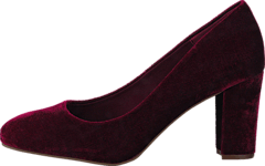 Velvet Pump OND17 40 Wine Red