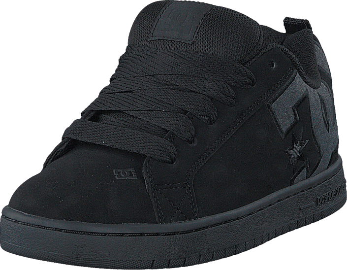 c5bfd931f91921 Kjøp DC Shoes Court Graffik SE Black Destroy Wash sorte Sko Online ...