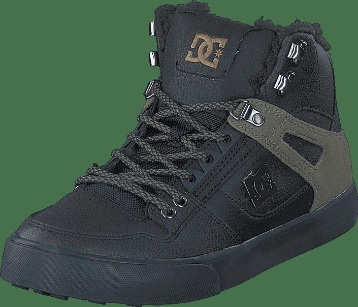 DC Shoes - Spartan High WC WNT Black Olive