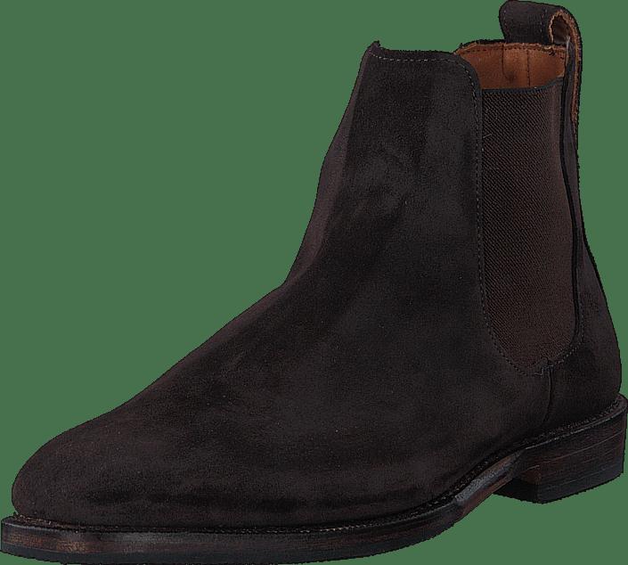 Allen Edmonds - Liverpool Boots Brown