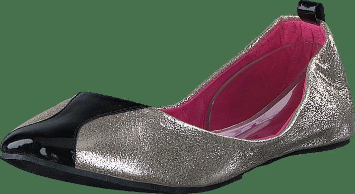 Damn Heels - Foldable Ballerina Champagne Gold