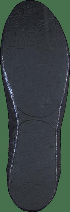 Foldable Ballerina Gunmetal Glitz