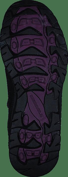 Merrell - Vego Mid Leather WTPF Black/Gloxinia